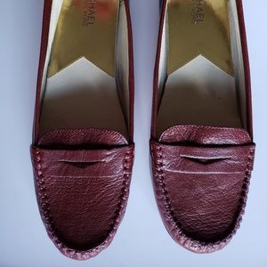 Michael Kors Burgundy Loafers